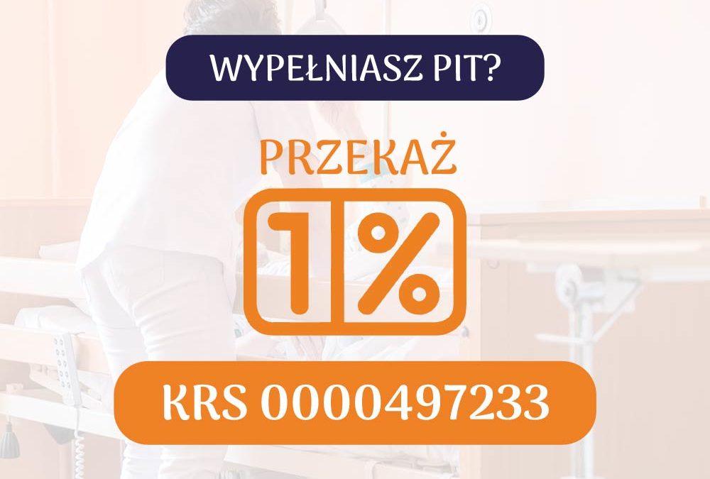 Przekaż 1% podatku z PIT!